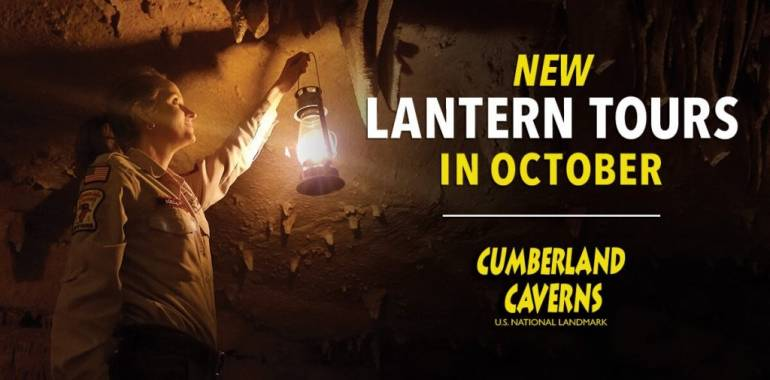 New Lantern Tours in October at Cumberland Caverns