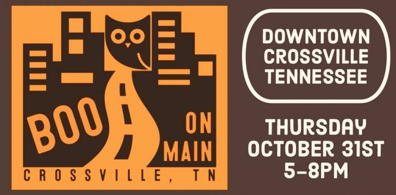 Boo On Main-Crossville, TN-October 31st, 2019