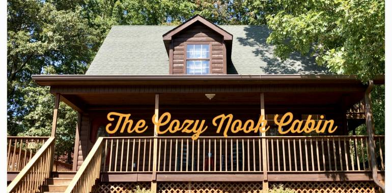 The Cozy Nook is our newest cabin to Deer Creek Properties