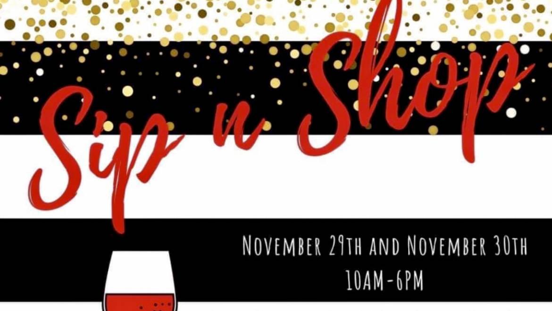 Sip n Shop-Northfield Vineyards-November 29th/30th, 2019