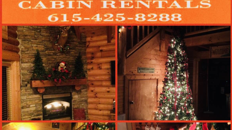 Plan your Christmas Getaway today at Deer Creek Properties