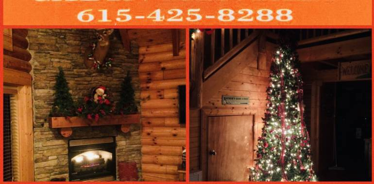 Plan your Christmas Getaway today at Deer Creek Properties