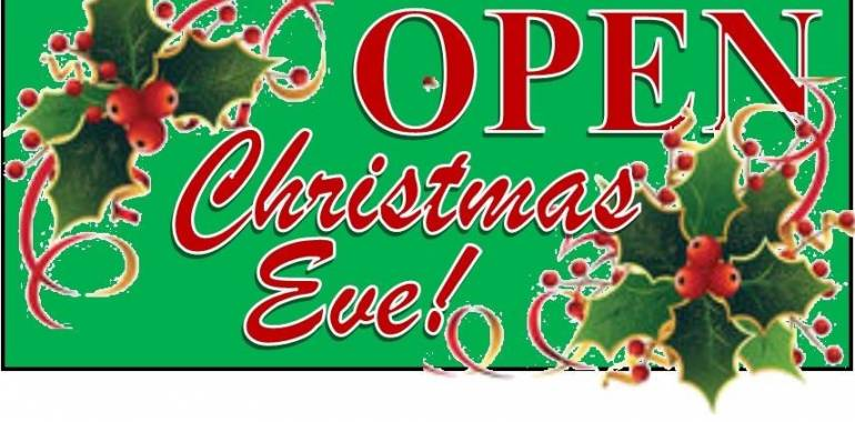 Hip Chicks is Open Christmas Eve w/Northfield Vineyards