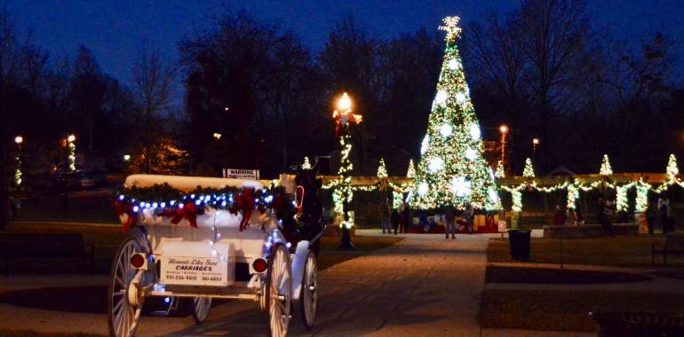 Christmas Carriage & Wagon Rides-Dogwood Park-Dates in December