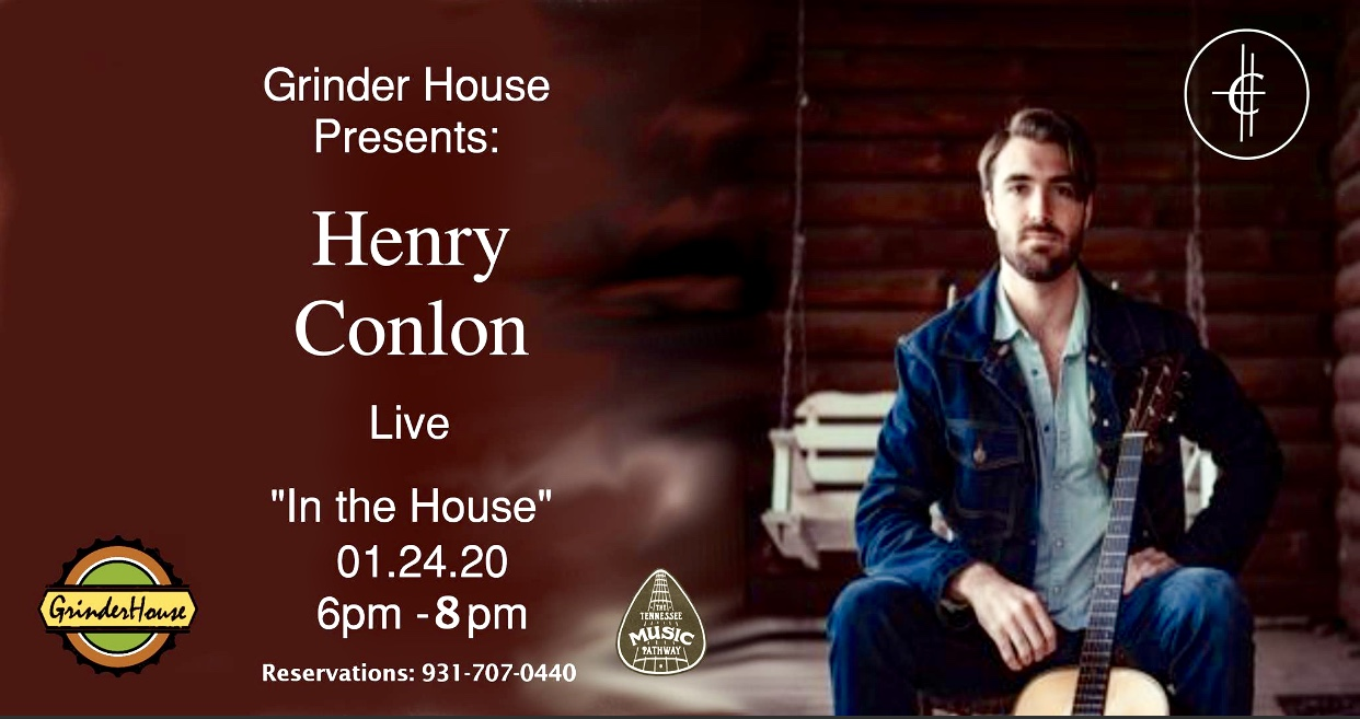 """Henry Conlon live """"In the House"""" Grinder House Coffee-January 24, 2020"""