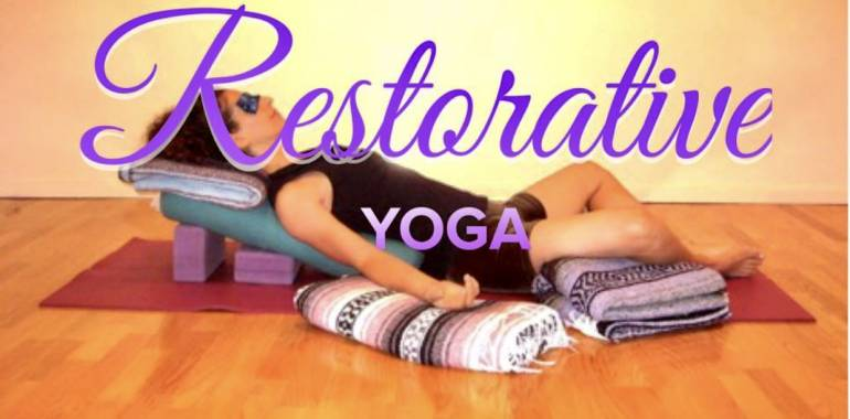 Restorative Yoga Practice-Synergy Mind & Body Studio-February 9, 2020