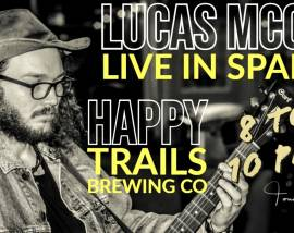 Lucas McCoy: Live Music at Happy Trails Brewing Company-February 15 2020