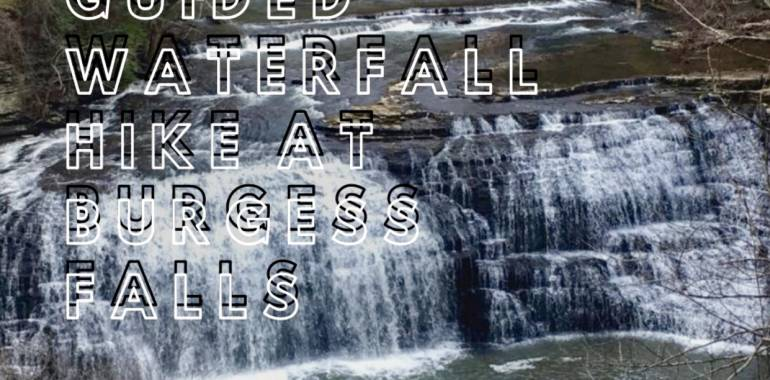 Guided Waterfall Hike at Burgess Falls State Park-February 15, 2020