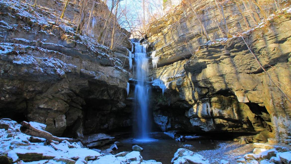 Cable Trail Climb-Fall Creek Falls State Park-March 8, 2020